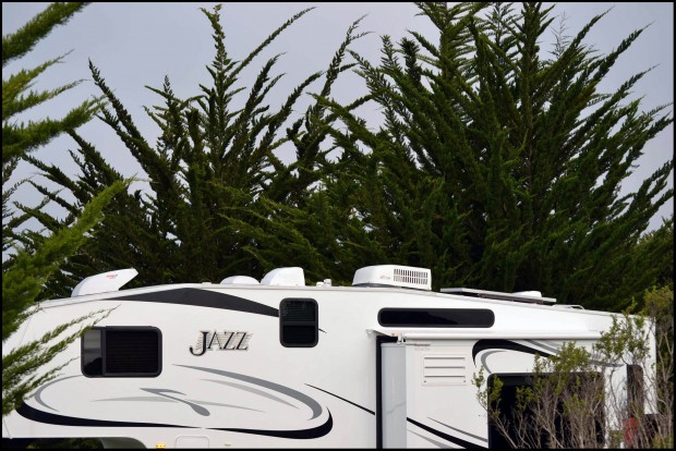 A large fifth wheel can be  a great destination trailer.