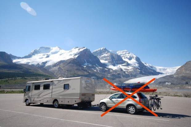 Enjoying Motorhome Travel Without A Tow Car Insight Rv