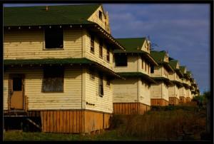 Old Fort Ord Buildings in Seaside, California.