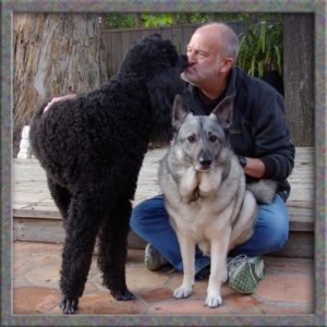 I took this picture of Victor and his dogs in 2009, a year before his diagnosis.
