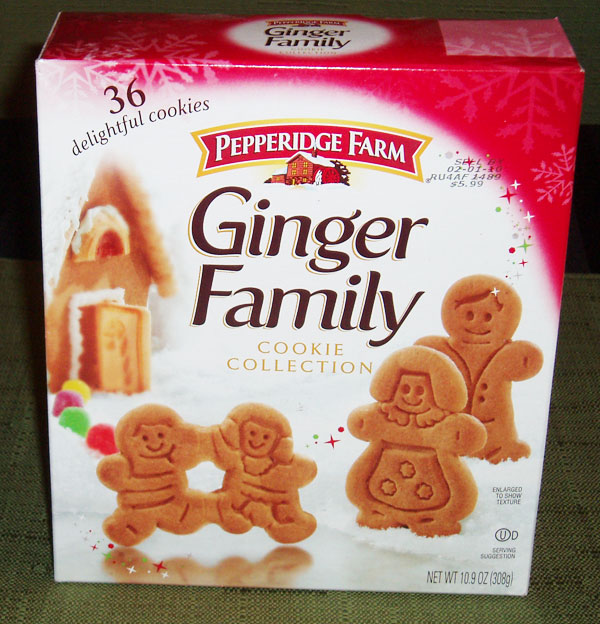 Pepperidge Farm Gingerbread Cookies ginger-family-box | In...