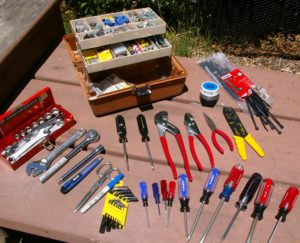 Mechanical Tool Kit for a Fulltimer