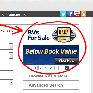 New Below Nada Book Value Search Feature