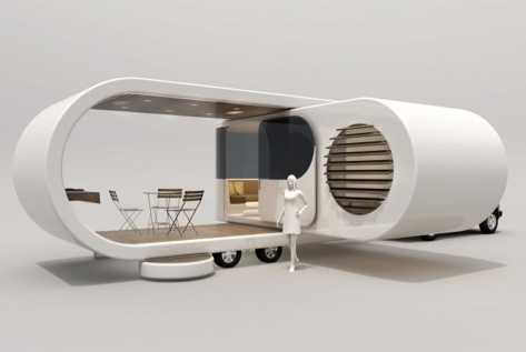 Romotow revolutionizes rv travel trailer concept insight for New age home designs