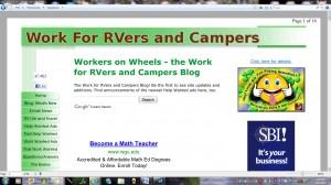 Workers on Wheels Webpage