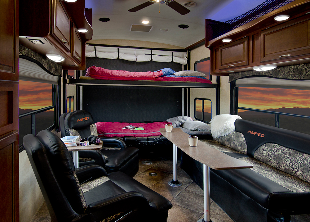 Inside EverGreen RVs Impressive New Amped Toy Hauler