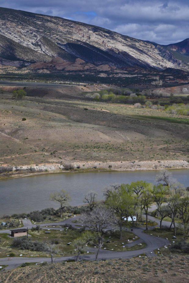 Dinosaur National Monument Campsite DSC_0092