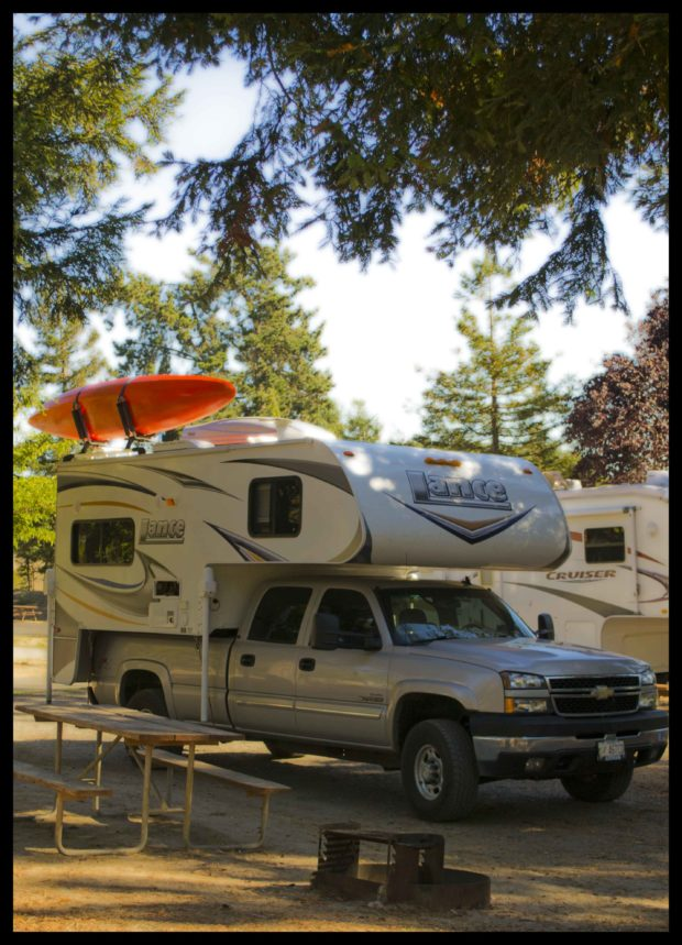 Lance Camper & Kayak mount