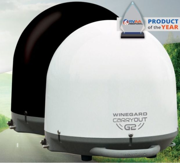 July 2015 Winegard Portable TV Antenna