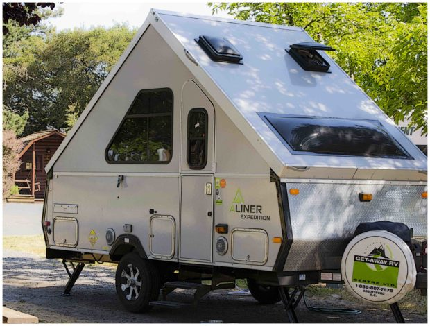 RVs small A frame Liner Expedition