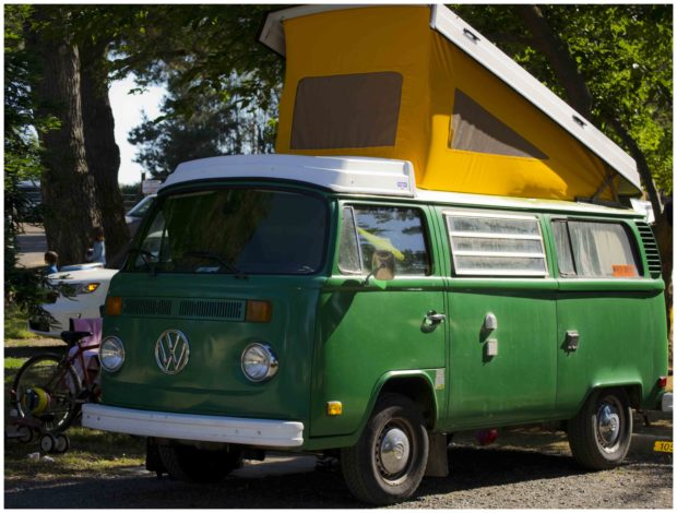 RVs small old VWvan