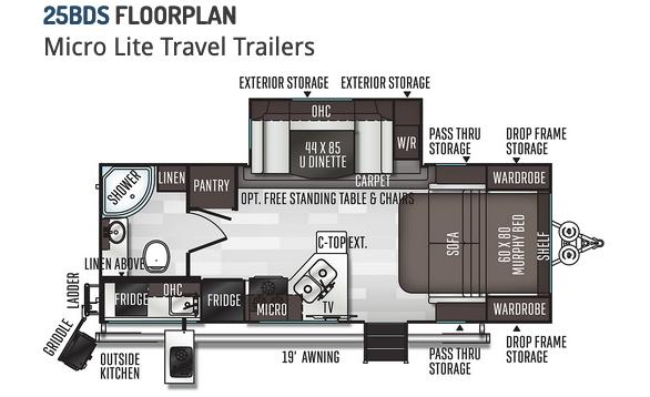 Flagstaff Micro Lite floorplan