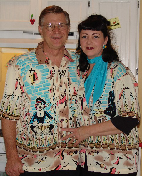 Stephen and Lora love their vintage lifestyle.