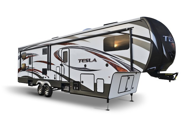 EverGreen's New Tesla Brings Luxury to 5th-Wheel Toy ...