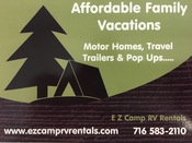 EZ Camp RV Rentals and Sales