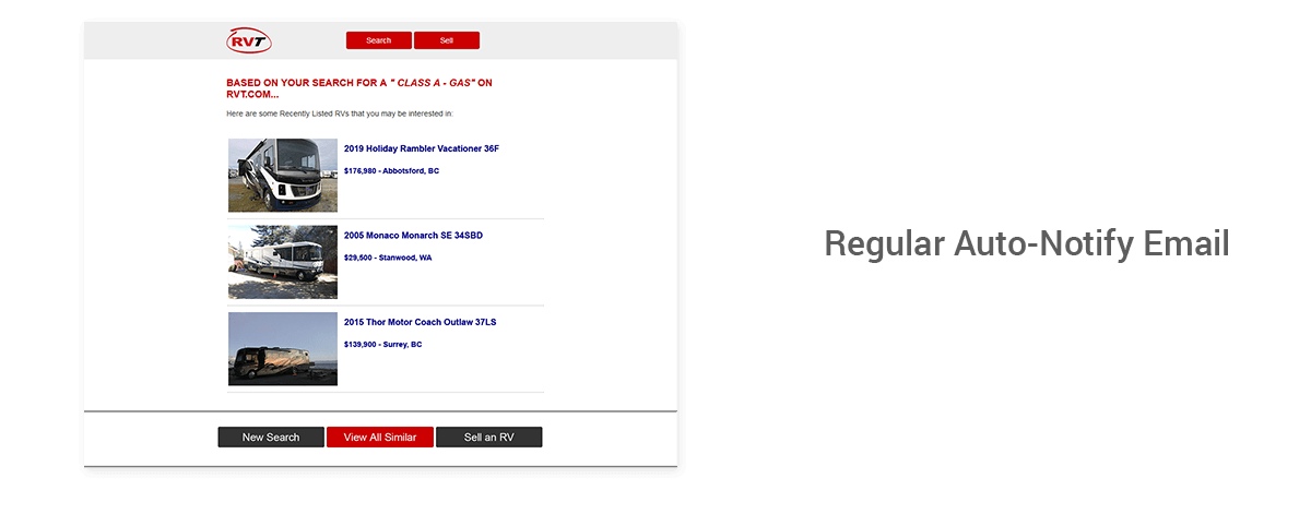 Regular Auto-Notify Email