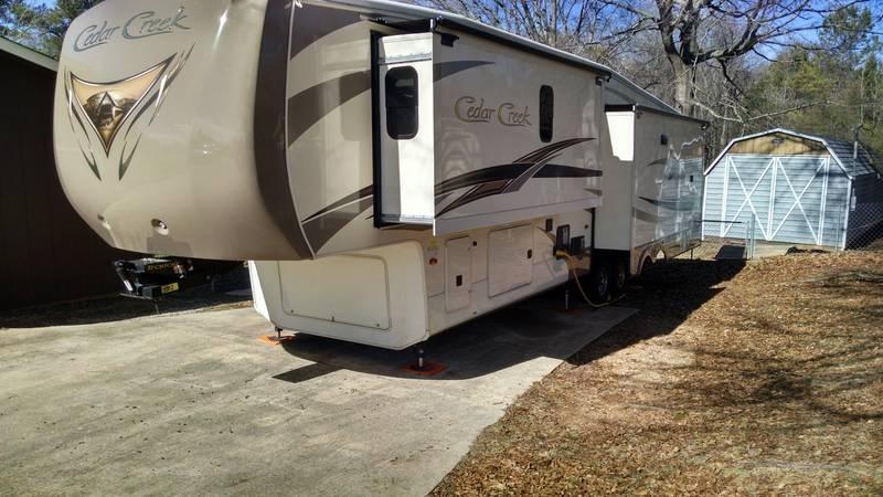 2015 Forest River Cedar Creek 38CK