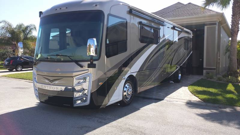 2016 entegra coach aspire 38m class a diesel rv for sale by owner in titusville florida. Black Bedroom Furniture Sets. Home Design Ideas