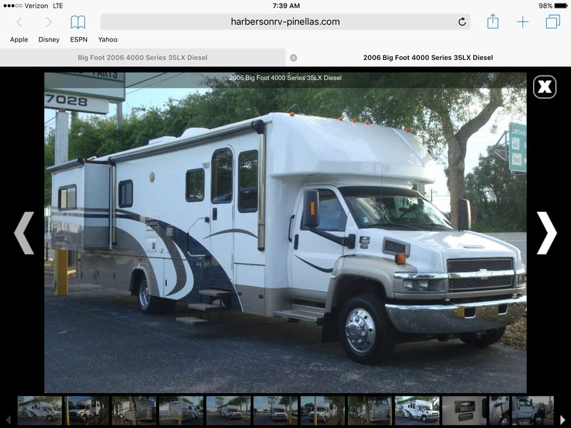 Used Travel Trailers For Sale By Owner 3000 >> 2006 Bigfoot RV 3000 4 season, Class C RV For Sale By ...
