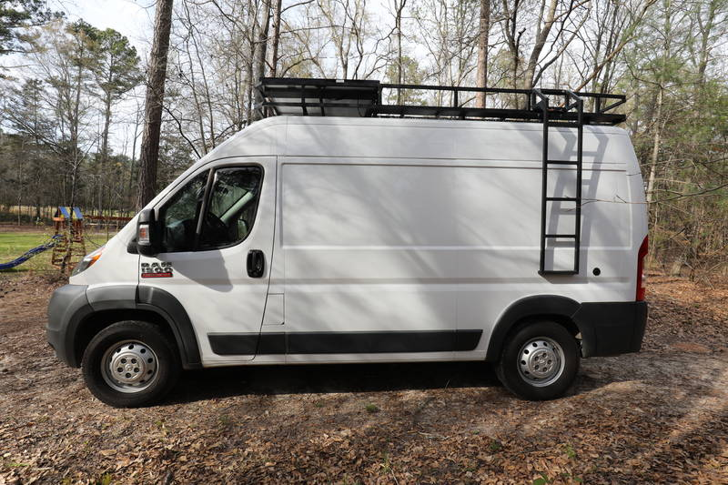 Dodge Dealers In Sc >> 2016 Dodge Ram Promaster 1500 Adventure Camper Van ...
