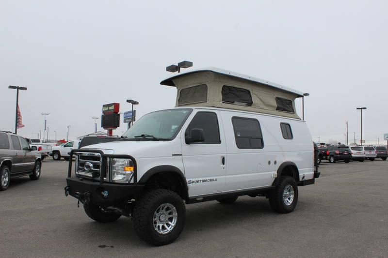 2008 Ford Econoline Sportsmobile Conversion Van Rv For Sale In