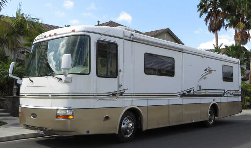 2003 rexhall vision 3550 diesel pusher class a diesel rv for sale by owner in lake forest. Black Bedroom Furniture Sets. Home Design Ideas