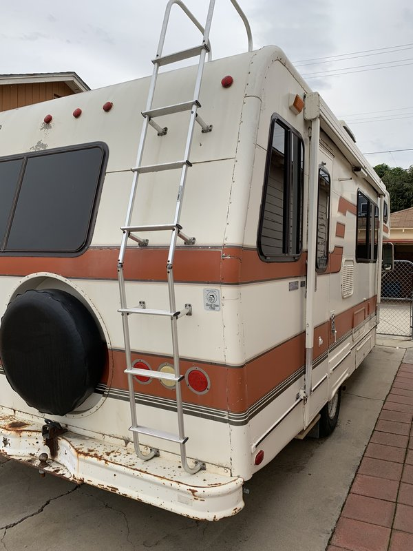 1984 Lazy Daze Rear Bath Class C Rv For Sale By Owner In Ventura
