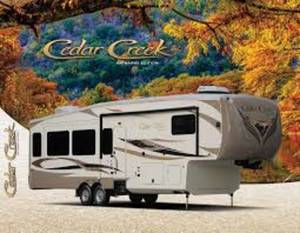 2016 Forest River Cedar Creek Hathaway 38FB2