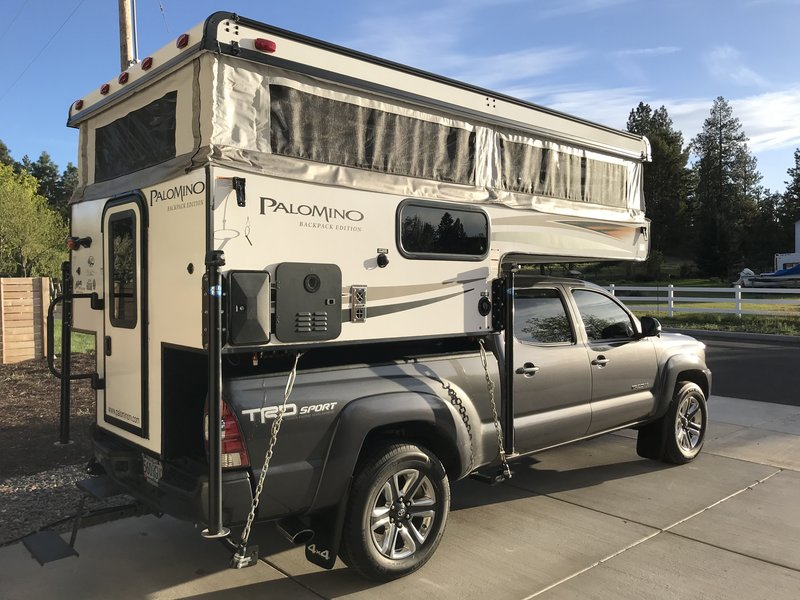 2018 Palomino Backpack Edition Ss 500 Truck Campers Rv
