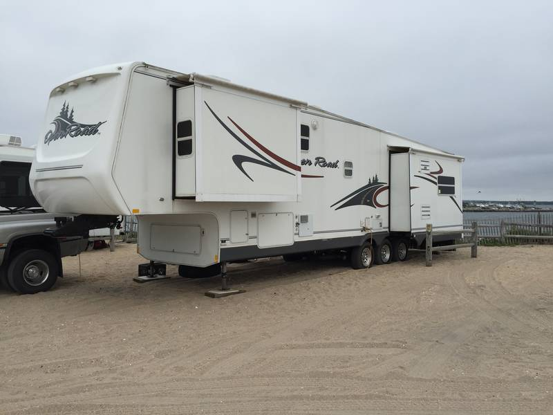 Open Road Fifth Wheel Floor Plans: 2005 Pilgrim Open Road 389RLS-5, 5th Wheels RV For Sale By