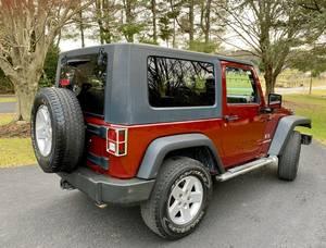 2009 Jeep Wrangler Sport X