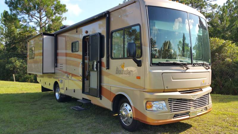 2007 Fleetwood Bounder 33R, Class A - Gas RV For Sale By ...
