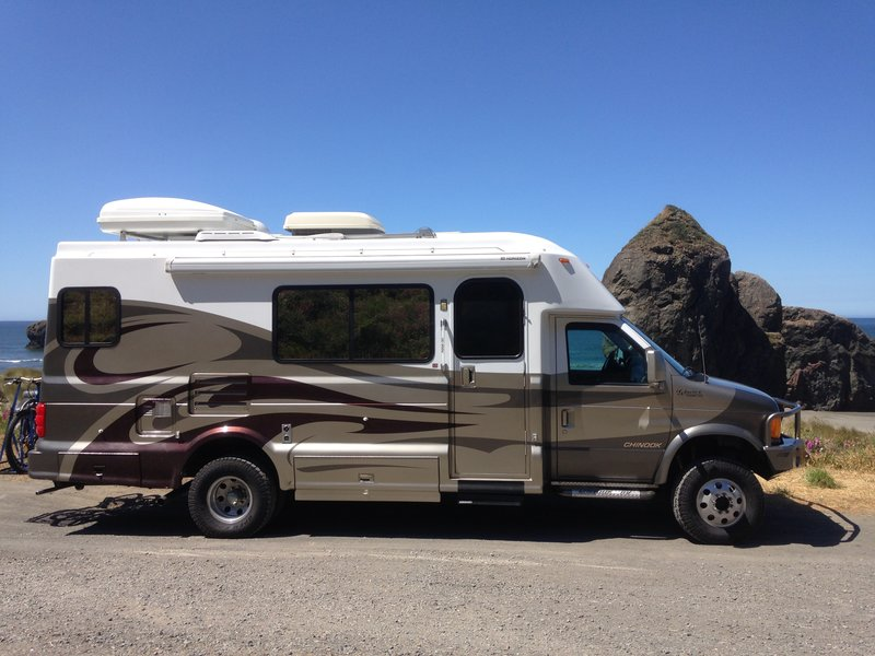 Used Motorhomes For Sale >> 2005 Chinook Glacier 2500 4x4, Class B RV For Sale By ...