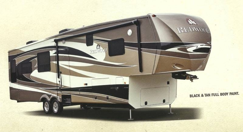 2013 Redwood RV CrossRoads RW38GK
