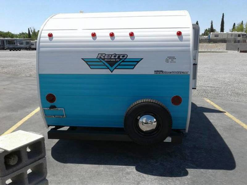 2017 Riverside RV Retro 155
