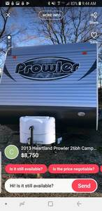 2013 Heartland Prowler 26BH