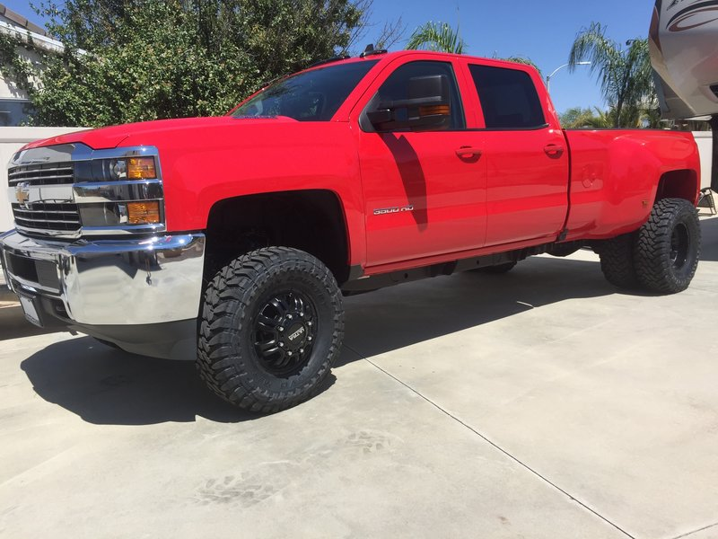 2016 Chevrolet Silverado 3500 Crew Cab Dually For Sale Murrieta Ca