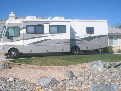 2003 fleetwood southwind 32v class a gas rv for sale by owner in apple valley california. Black Bedroom Furniture Sets. Home Design Ideas