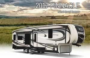 2017 Jayco Pinnacle 37MDQS