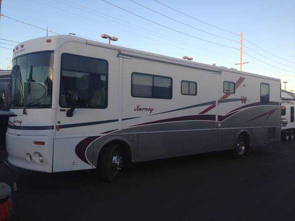 Tow Truck For Sale Canada >> 2000 Winnebago Journey, Class A - Diesel RV For Sale in ...
