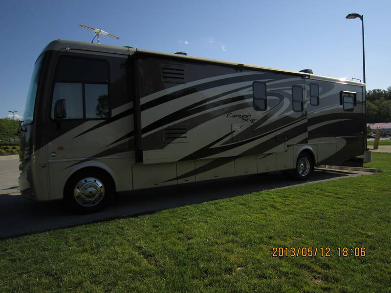2012 Newmar Canyon Star 3856