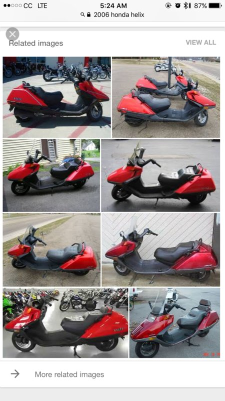 ATVs & Motorcycles - 2006 Honda Helix