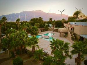 Palm Springs RV Lot  Two Springs Resort