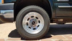 Vision 81A Heavy Hauler 195 Wheel  Tire combo