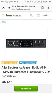 Brand new stereo