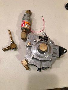 Beam 50 dry gas regulator
