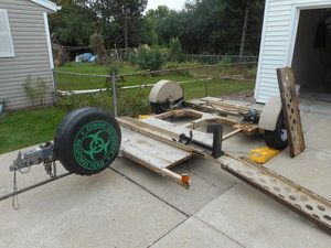 TANDEMTOW HD motorcycle  car hauler