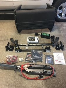 BlackHawk tow bar and tow shieldnever used