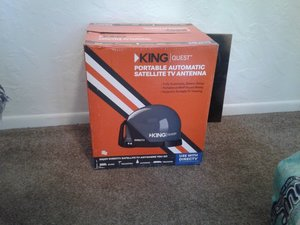 King Quest Portable Satellite TV Antenna