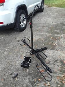 Swagman XTC 2 two bike carrier for RV bumper